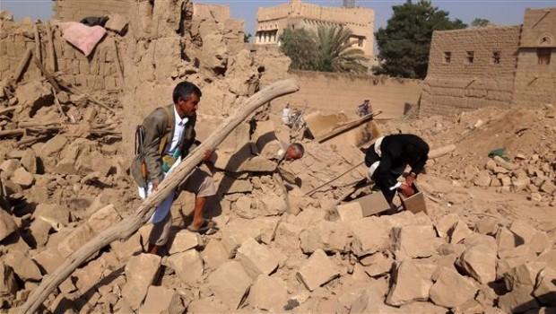 jemen szaúsi bombázás 2