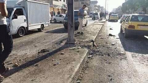 A robbantás helyszíne Haszakahban