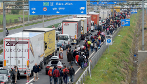 migránsok ausztria
