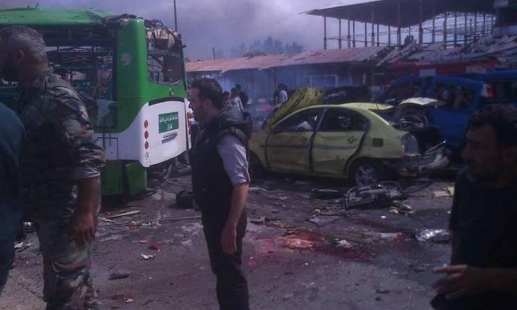 robbantás tartusz szíria