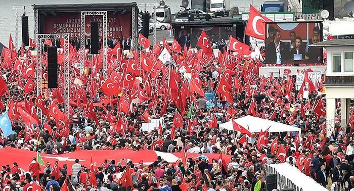 török tüntetés németország