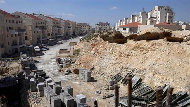 A megszállt ciszjordániai Modiin Illit településen folyik az új telepek építése a zsidók részére 2011. március 14-én – AP