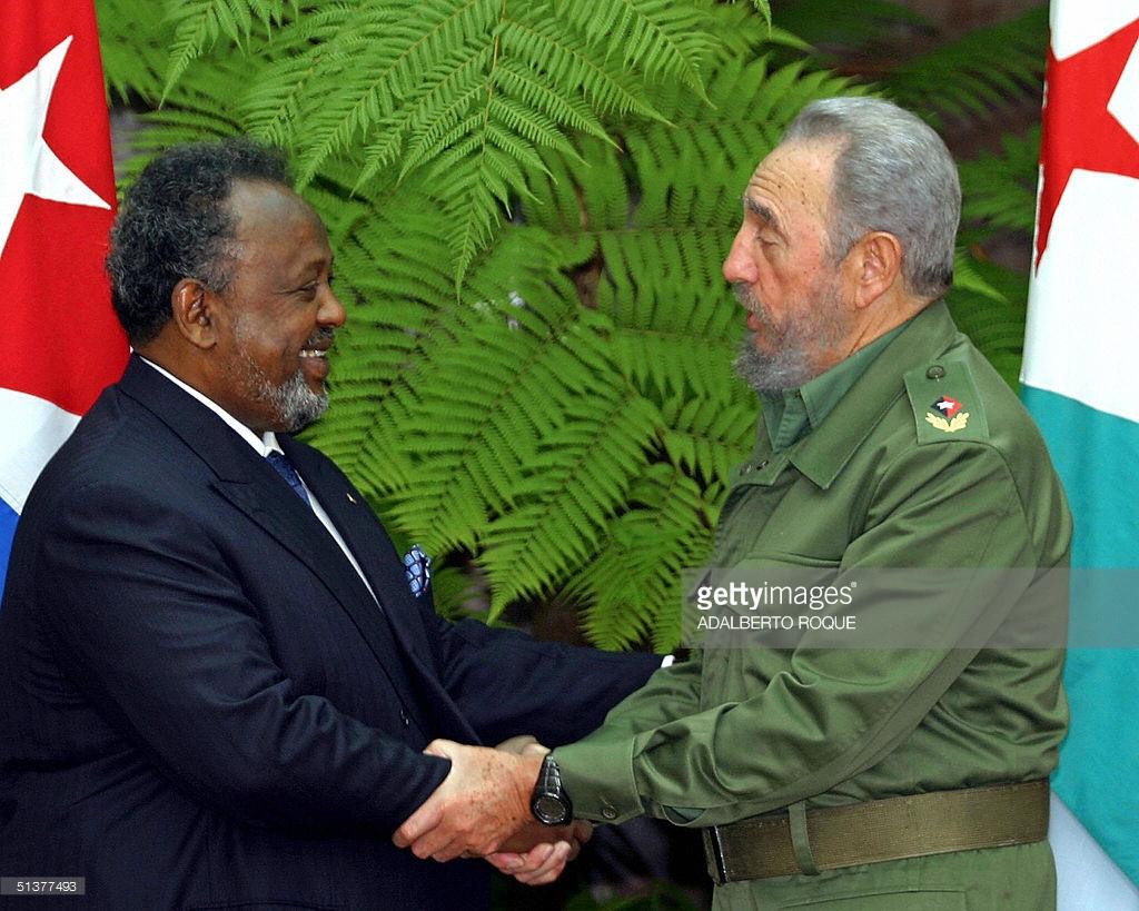 Ismail Omer Guelleh Dzsibuti elnökével