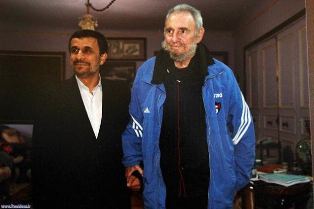 Ahmedinajaddal egykori iráni elnökkel