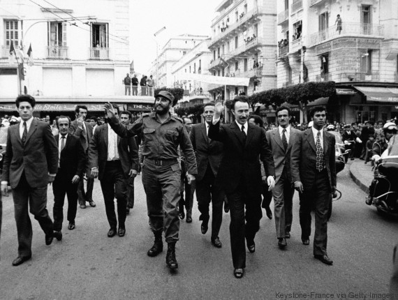 Castro Boumediene algír vezetővel