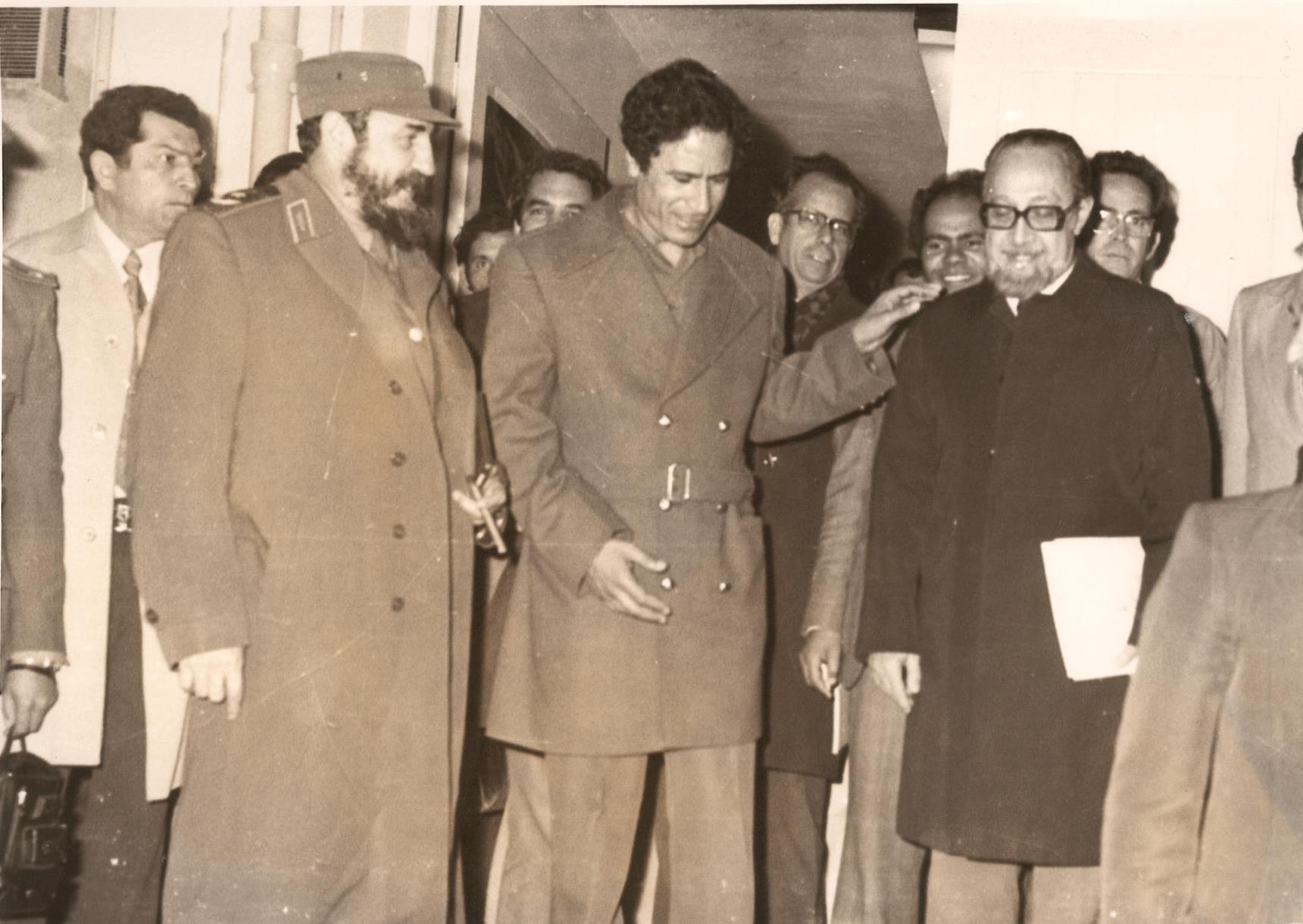 Castro és Kadafi Pakisztánban