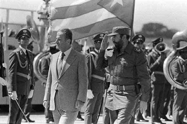 Hafez Al-Assad Kubában 1979