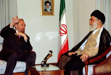 Fidel Castro Iránba találkozott Khamenei ajatollahal