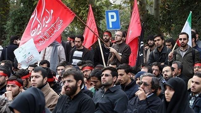irani-egyetemistak-tiltakoznak-benjamin-netanyahu-izraeli-miniszterelnok-azerbajdzsani-utja-miatt-ardabil-tartomanyaban-2016-december-12-en-press-tv