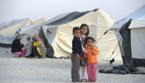 Syrian refugee camp in Jordan