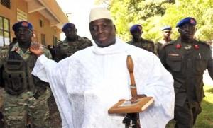 Yahya Jammeh gambiai elnök