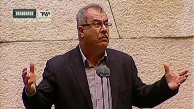 Mohammed Barake palesztin knesszet izrael