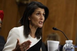 Nikki Haley Egyesült Államok ENSZ-nagykövete