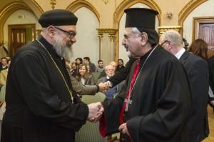 Youssef Khalil, a Magyarországi Kopt Ortodox Egyház vezetõje is találkozott Mar Ignatius Joseph III. Younannal