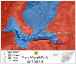 barada völgy térkép