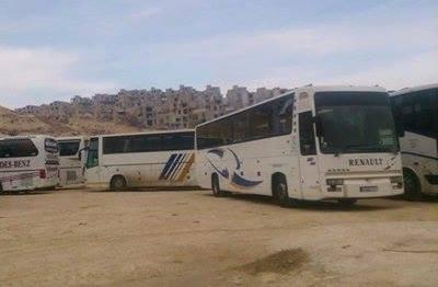 barada völgy zöld buszok