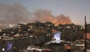 damaszkusz bombázás izrael