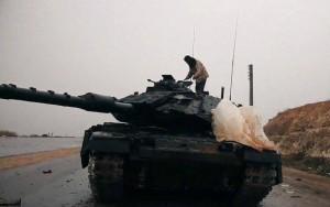izraeli tank isis kezén