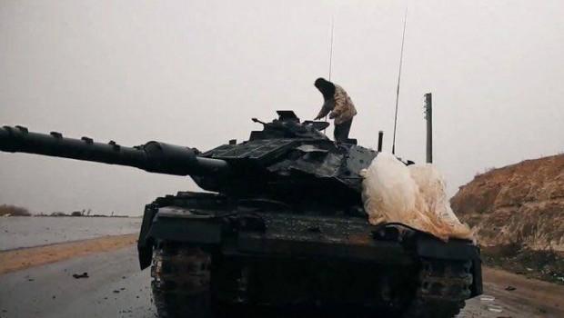 Nap képe: Izraeli tank az Iszlám Állam birtokában