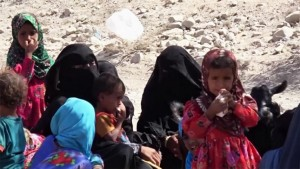 jemen nők gyerekek