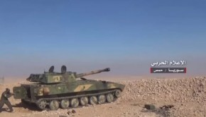 kelet homsz syria army tank 2120