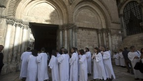 keresztények szentszék izrael
