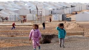 menekülttábor szír-jordán