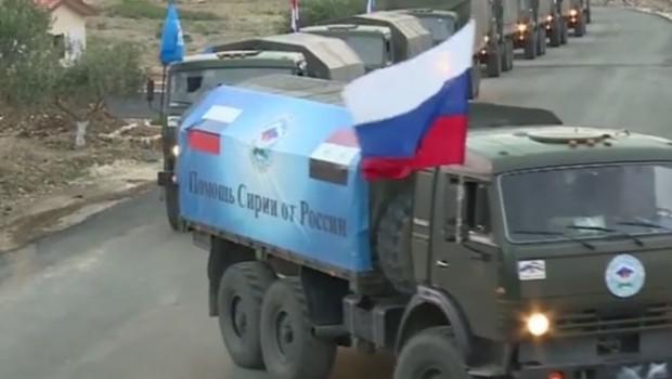 orosz kamion szíria