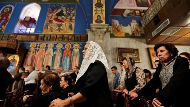 szentföld keresztények palesztina