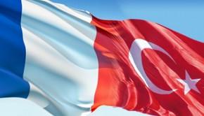 török francia zászló