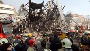 torony irán összeomlott
