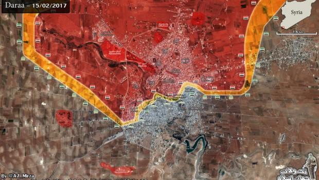 daraa szíria térkép 2017.02.16.