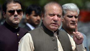 Navaz Sarif lemondott pakisztáni kormányfőFotó: Aamir Qureshi/AFP