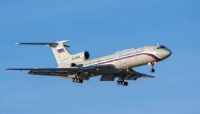 Tu-154-es orosz repülő. Forrás: Shutterstock