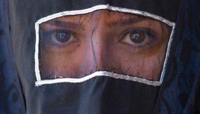 Síita muszlim nő Iránban Forrás: AFP