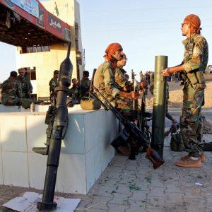 Fotó: Reuters Pesmerga harcosok pihenője Kirkuknál. Elmérgesedett a helyzet a vitatott területeken