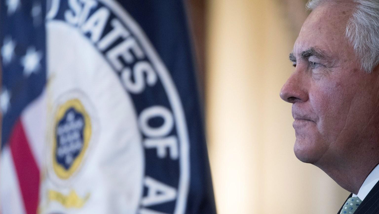 Rex Tillerson amerikai külügyminiszter (Fotó: MTI/EPA/Shawn Thew)