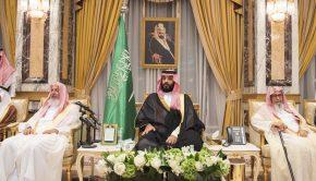 Mohamed bin Szalmán megváltoztatná a régi rendet. Kérdés, sikerül-e neki. Fotó: Bandar Algaloud / Saudi Royal Council / Handout/Anadolu Agency/Getty Images