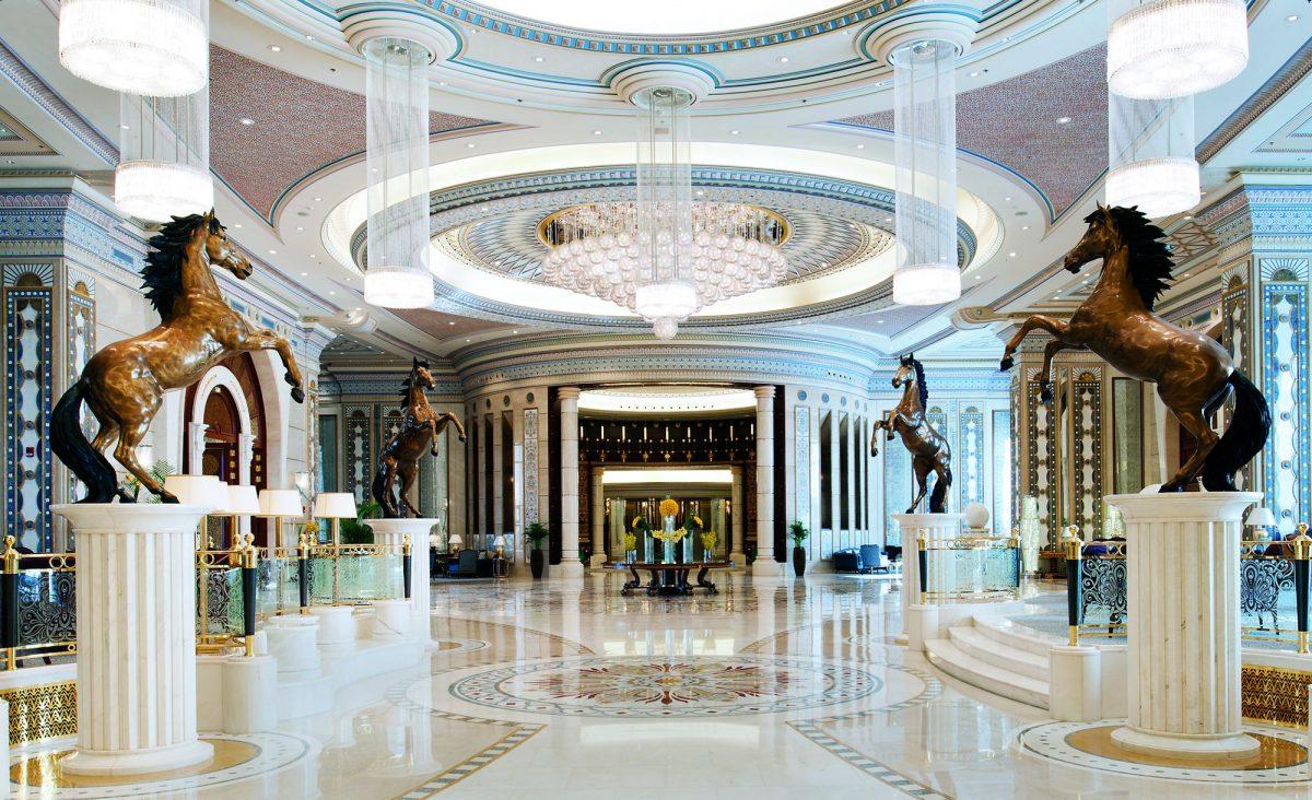 A rijádi Ritz-Carlton valódi luxusbörtön. Forrás: ritzcarlton.com