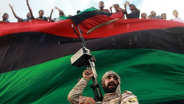 líbia flag
