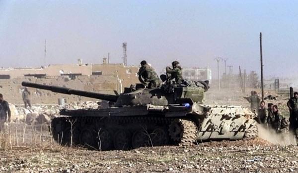 A Szíriai Arab Hadsereg elfoglalta Aleppo egyik központi kerületét