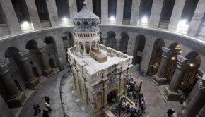A jeruzsálemi Szent Sír - EPA