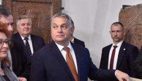 Orbán Viktor miniszterelnök látogatást tesz Gizella magyar királyné sírjánál Passauban (Fotó: MTI/Máthé Zoltán)