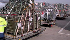Fegyverszállítmány – képünk illusztráció (Fotó: MTI/EPA/Jan Woitas)